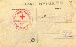 CROIX ROUGE(SAINT NAZAIRE) - Marcophilie (Lettres)