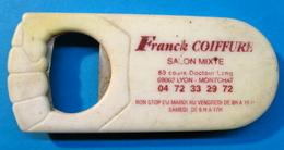 DECAPSULEUR FRANCK COIFFURE SALON MIXTE 83 COURS DOCTEUR LONG 69003 LYON MONCHAT NON STOP DU MARDI AU VENDREDI DE 8H A - Bottle Openers
