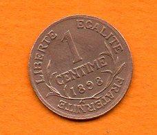 France-  1898 - Dupuis -  1 Centime En Bronze - Cat Fayette N° 90 -  Excellent état   Sup - France