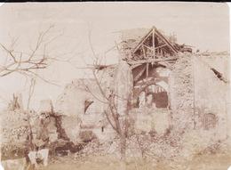 Photo Novembre 1916 SUZANNE (près Péronne) - Les Ruines De L'église (A191, Ww1, Wk 1) - Otros Municipios