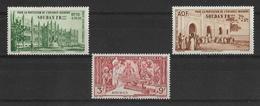 Soudan Français 1942 - Protection De L'enfance Indigène - PA  Y&T - N° 6/7/8 ** P A -  Neufs Luxe (T.B.) - Soudan (1954-...)