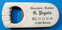 DECAPSULEUR BOUCHON CHARCUTERIE TRAITEUR B. PEGUIB 42300 ROANNE - Bottle Openers