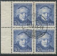 1810 - 30 Rp. Grégoire Girard Mit Zentrumstempel BERN 7 KORNHAUS 18.XII.33 - Pro Juventute