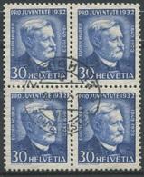 1811 - 30 Rp. Eugen Huber Mit Zentrumstempel ZÜRICH 12 NEUMÜNSTER -2.XII.32 - Pro Juventute