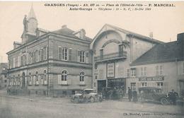 GRANGES - PLACE DE L'HOTEL DE VILLE - P. MARCHAL AUTO-GARAGE - Granges Sur Vologne