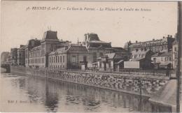 RENNES LA GARE DE VIARMES LA VILAINE ET LA FACULTE DES SCIENCES TBE - Rennes