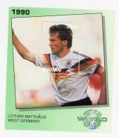 Bhutan-1990-LOTHAR MATTHAUS-Histoire De La Coupe Du Monde-bloc***MNH - Coupe Du Monde