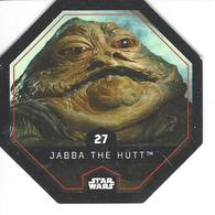JETON LECLERC STAR WARS   N° 27 JABBA THE HUTT - Power Of The Force