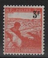 FR 1076 - FRANCE N° 750 Neuf** Au Profit Des Tuberculeux Surchargé - France