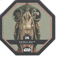 JETON LECLERC STAR WARS   N° 26  SEBULBA - Power Of The Force