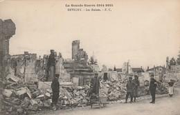 Militaria : REVIGNY :  Les Ruines : (  Meuse ) - Monumenti Ai Caduti