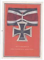 Ritterkreuz Des Eisernen Kreuzes  -  Halsorden Mit Schwarz Weiß Rotem Band  (89833) - Autres