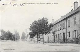 LA PALISSE - Sous-Préfecture Et Avenue Du Donjon - Lapalisse