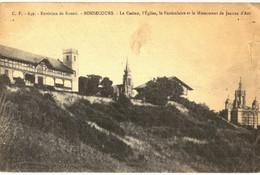 CPA N°21357 - CACHET SOCIETE FRANCAISE DE SECOURS AUX BLESSES MILITAIRES 1864 -HOPITAL AUXILIAIRE N°1 ROUEN MEDECIN CHEF - Weltkrieg 1914-18