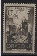 FR 1072 - FRANCE N° 742 Neuf** Oradour Sur Glane - Ungebraucht