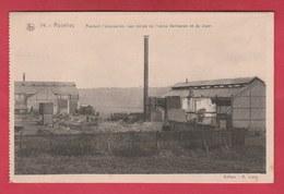 Roselies - Pendant L'occupation- Les Ruines De L'Usine Verhaeren & Jager ( Voir Verso ) - Aiseau-Presles