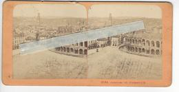 Circa 1860 VERONNE STEREO ITALIE ITALIA PHOTO STEREO /FREE SHIPPING REGISTERED - Photos Stéréoscopiques