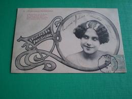 Bergeret Nancy, Frimousses Parisiennes, A Montmartre ..ma Vertu...fit La Culbute .... Art Nouveau - Illustratoren & Fotografen