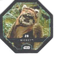 JETON LECLERC STAR WARS   N° 28 WICKET - Power Of The Force
