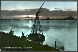 Khartoum, Sunset On Blue Nile, Nil, 1958 - Sudan