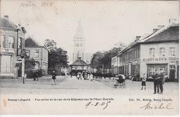 Zicht Op De Kiosk En Kerk 1905 - Leopoldsburg
