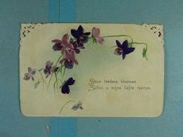 Mignonette Deze Lederen Bloemen Zullen U Mijn Liefde Roemen - Fleurs