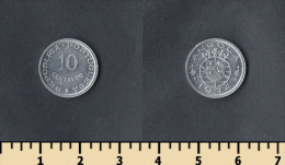Angola 10 Centavos 1974 - Angola