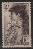 FRANCE N° 738 Neuf** Sarah Bernhard - Unused Stamps