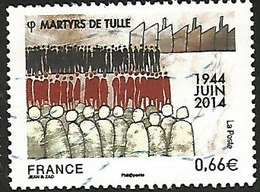N° 4865 : Martyrs De Tulle - Oblitéré - France