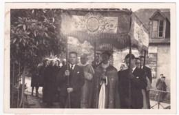 """Ancienne Photo Chateaulin """"Souvenir De La 1ère Grand' Messe (...) 21 Juillet 1946"""" à Identifier - Anonyme Personen"""
