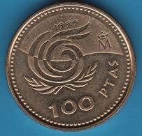 ESPANA 100 PESETAS 1999 Juan Carlos I KM# 1006 International Year Of Older Persons - [ 5] 1949-… : Royaume