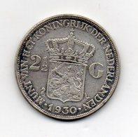Paesi Bassi (Olanda) - 1930 -  2  Gulden - Argento - (FDC9673) - [ 8] Monete D'Oro E D'Argento