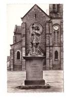 22 Broons La Statue De Duguesclin CPSM PF Cachet 1957 - Otros Municipios