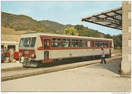 CPSM - Morosaglia (Corse) - Train En Gare De Ponte Leccia - FRANCO DE PORT - France
