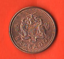 Barbados 1 One Cent 1991 Trident - Barbados