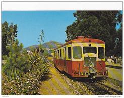 CPSM - Calenzana (Corse) - Autorail Billard - FRANCO DE PORT - France