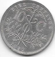 *Bolivia 10 Centavos 1899 Km174.1 - Bolivia
