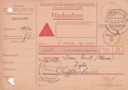 Nachnahme De 6 RM 30 Pfg De HAGENAU Du 12.5.42 Pour Soufflenheim - Marcophilie (Lettres)