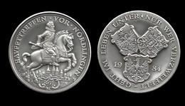 MEDAILLE DU DUC DE NORDLINGEN . 1984 . - Royal/Of Nobility