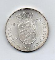 Paesi Bassi (Olanda) - 1973 -  10 Gulden - Argento - (FDC9676) - [ 8] Monete D'Oro E D'Argento