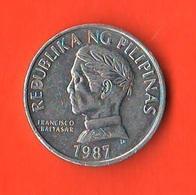 Filippine 10 Sentimo 1987 Pilipinas Fisch - Filippine