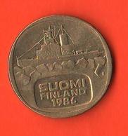 Finlandia 5 Marchi Markkaa Finland 1986 - Finlandia