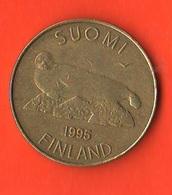 Finlandia 5 Marchi Markkaa Finland 1995 Seal - Finlandia