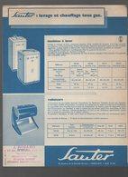 Catalogue Appareils Ménagers SAUTER (CAT 1065) - Advertising