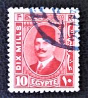 ROYAUME - ROI FOUAD 1ER 1927/32 - OBLITERE - YT 123 - Egypt