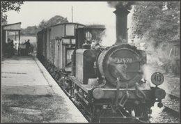 British Railways Engine No 32678 At Tenterden - Joanes Postcard - Trains