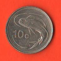 Malta 10 Cents 2005 Fisch - Malta