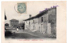 Ain - SAINT-VULBAS - MARCILIEU - L'Ecole - Dos Simple 1906 - Autres Communes