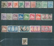Colonie Timbres  D'Algérie De 1926 N°34 A 57 (sauf N°41) Neufs * Et Oblitérés Cote 18€20 - Argelia (1924-1962)