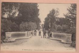 PAYNS - Pont Sur La Seine - Route De Villacerf - Frankrijk